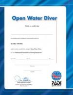 theorie examen padi open water