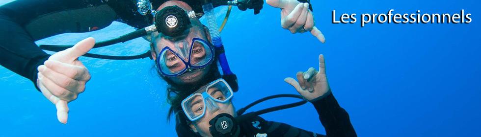Devenir professionnel de la plongée sous-marine PADI Avec Deep Turtle