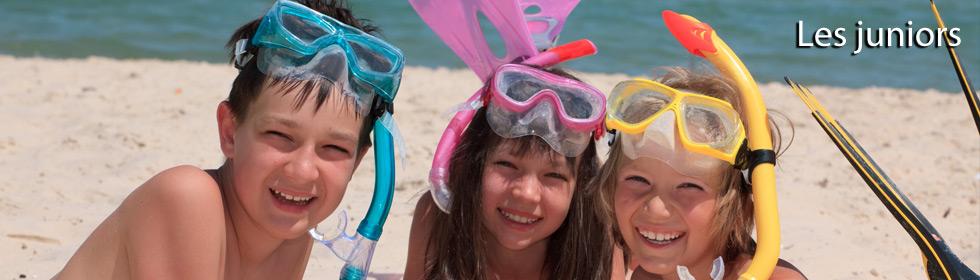 Les brevets de plongée sous-marine PADI pour les juniors avec Deep Turtle