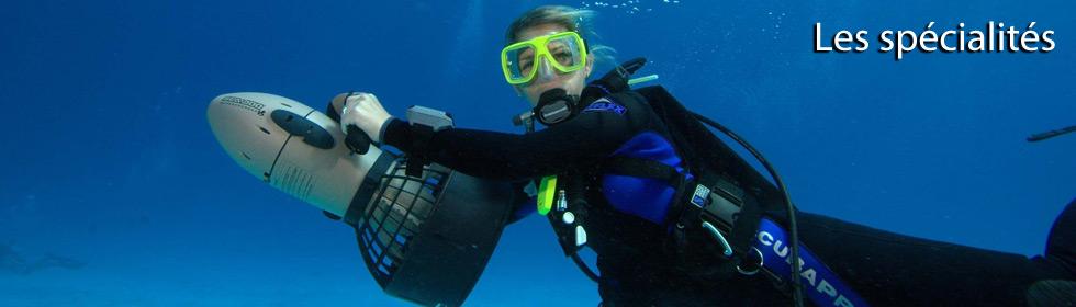 Effectuer un cours de spécialité PADI Avec Deep Turtle
