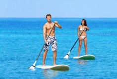 http://www.dreamstime.com/stock-photography-couple-doing-stand-up-paddleboarding-ocean-man-women-young-watersport-sea-male-female-tourists-swimwear-image65573572